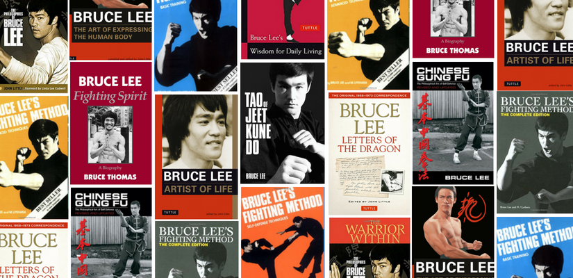 Bruce Lee Books Banner
