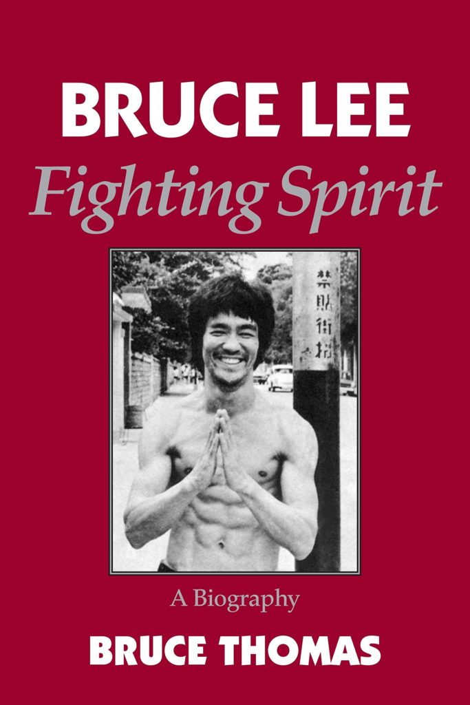 bruce lee biography books fighting spirit