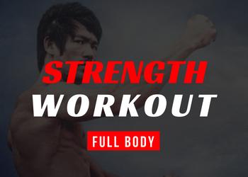 bruce lee full body workout thumbnail
