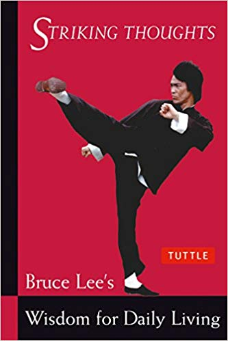 bruce lee books striking thoughts